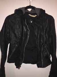 Hollister faux leather jacket size XS Silver Spring, 20902