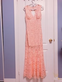 women's orange sleeveless dress Ajax, L1Z 1N1