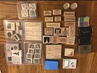 Stamp Lot - includes stampin up brand etc  Edmonton, T6T 1N4