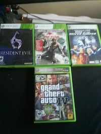 four Xbox 360 games  Winnipeg, R2X 1S8