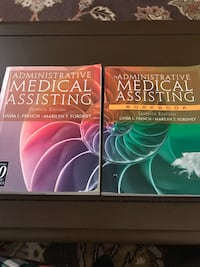 Used Medical Assisting Textbook And Workbook For Sale In