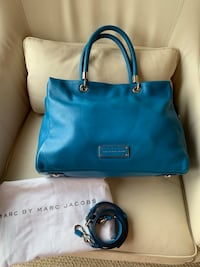 MARC by MARC JACOBS TOTE HANDBAG PURSE LARGE Too Hot Too Handle In Aquamarine Arlington, 22201