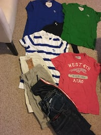 Boys clothes abercrombie fitch, aero shirts & pants McLean, 22031
