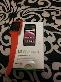 LG fortune 2 and smart watch