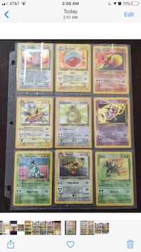Pokémon Jungle Cards complete set