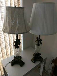 black and white table lamp Sunny Isles Beach, 33160