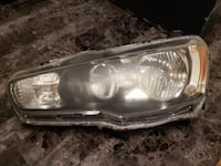 2009 Mitsubishi Lancer SE Headlight assembly Mississauga