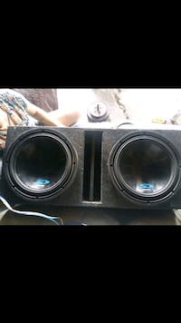 2 alpine s type 12s in ported box wired for 1 ohm