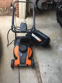 Lawn mower  new is been in the garage in new condition Sterling