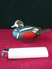 Ducks Unlimited 2011 Harlequin Mini Decoy