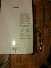 Bosch Tankless hot water heater (Natural Gas)