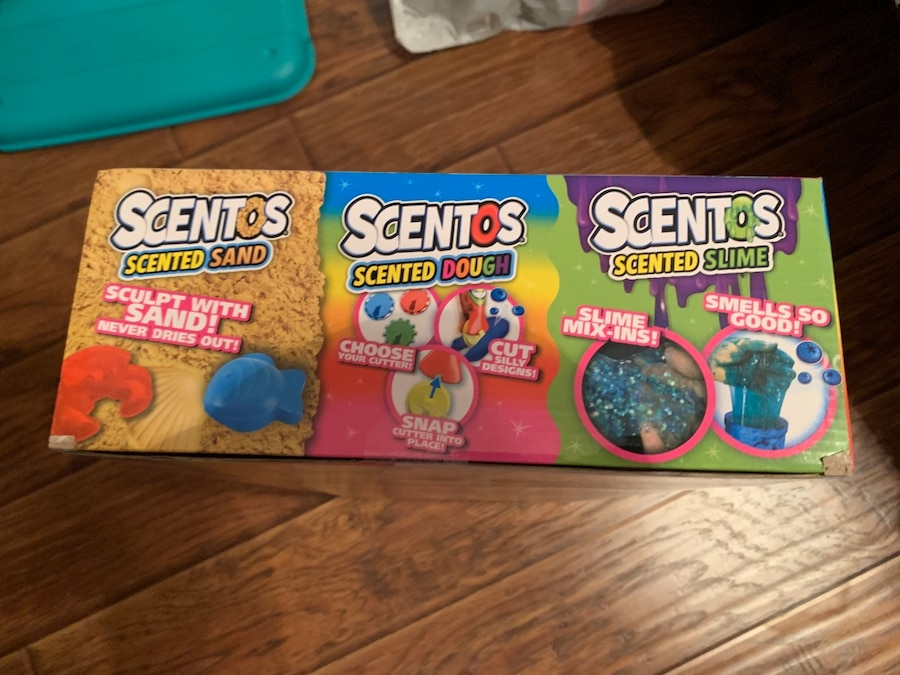 Scentos Scented Sand Dough Slime Kit