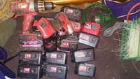 assorted color power tool lot Omaha, 68104