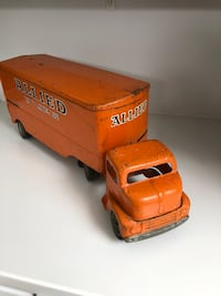 Vintage Allied Van Lines toy truck