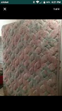 quilted pink and gray mattress screenshot