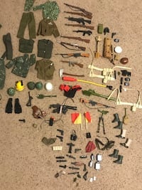 Vintage GI joe box lot accessories weapons and clothes  Frederick, 21704