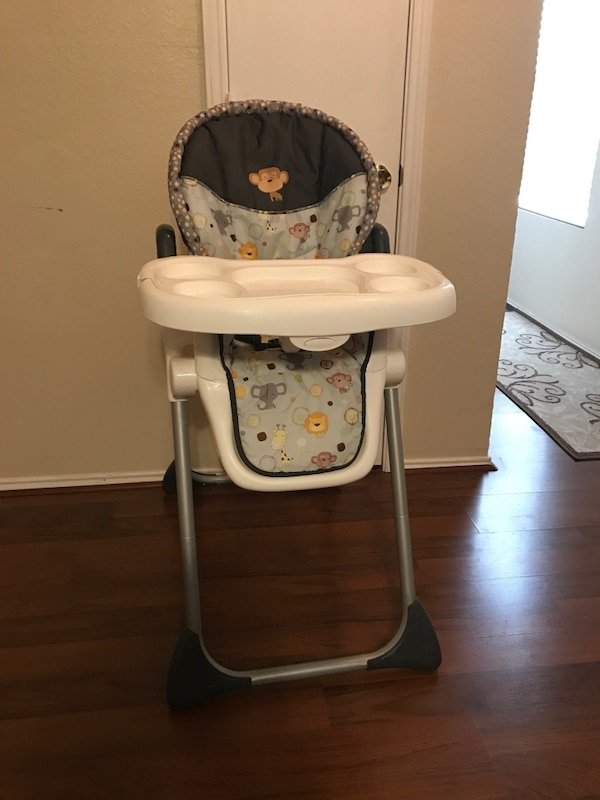 Used Baby Trend Sir Right High Chair Bobble Head For Sale In