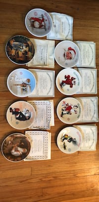 Norman Rockwell Plate Lot  Oxford, 06478