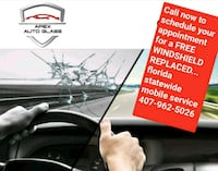 WINDSHIELD REPLACED  Jacksonville