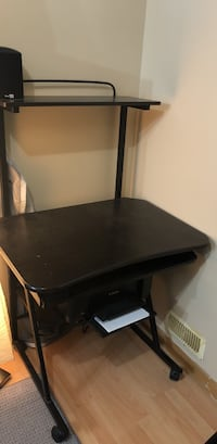black wooden desk with chair Mississauga, L5V 2N1