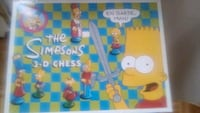 The Simpsons chest game...only 1000 made,  Toronto, M5B 2P2