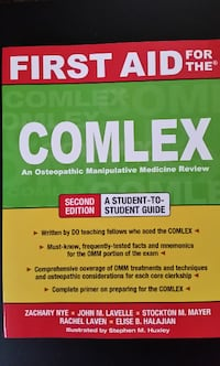 First Aid for the COMLEX 2nd ed.
