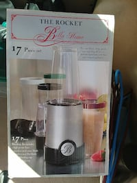 gray The Rocket Bella home blender box Centreville, 20120
