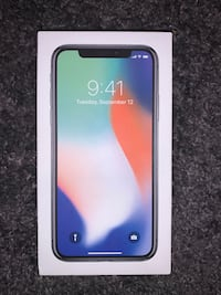 iPhone X 64gb White Unlocked
