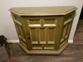 REDUCED Beautiful Green Cabinet