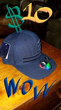 black and blue fitted cap Roseville, 95678