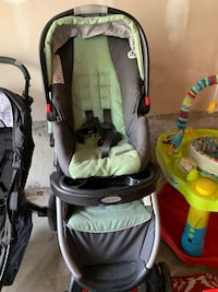 Stroller and car sit