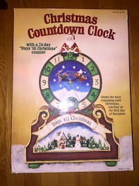 Christmas countdown clock book Paterson, 07505