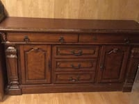 brown wooden cabinet with drawer Ottawa, K1N 6K9