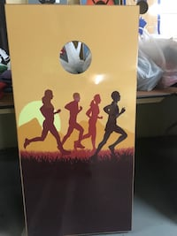 New Cornhole Boards with Bags  Raleigh