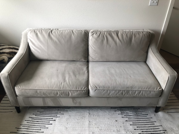 Fantastic West Elm Loveseat Great Condition Caraccident5 Cool Chair Designs And Ideas Caraccident5Info