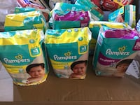 Pampers size 5  2343 mi