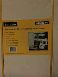Hiland tabletop patio heater Fort Washington, 20744