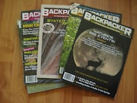Backpacker Magazines for sale VANCOUVER