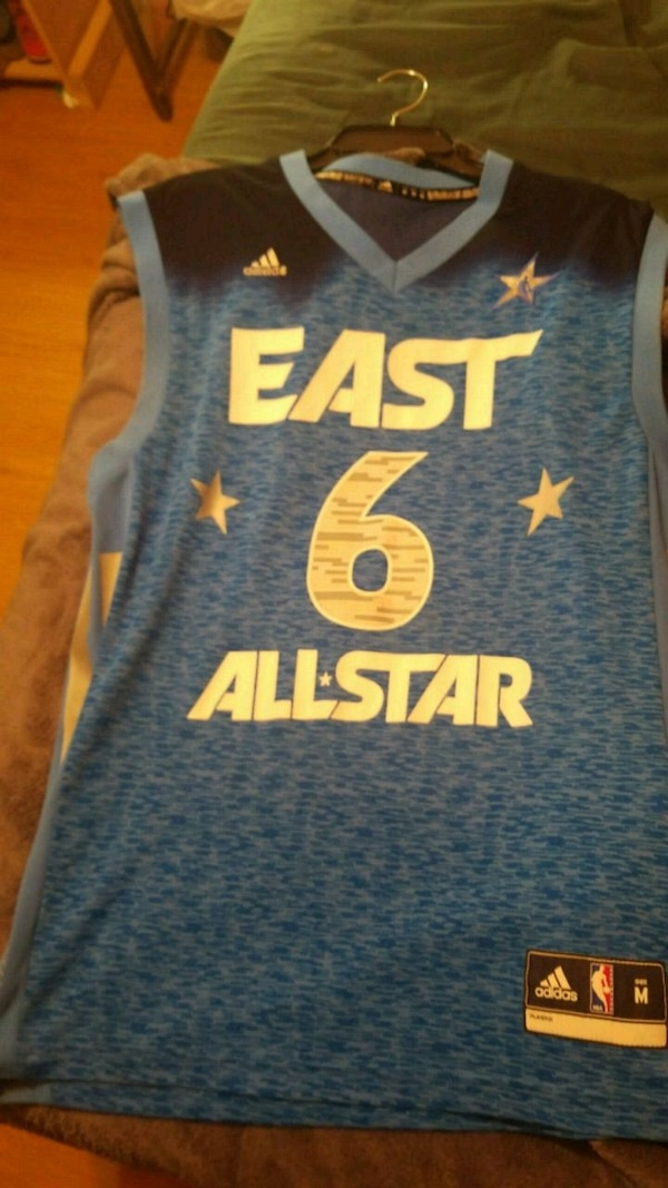 855dd827c6a Used Lebron James east allstar jersey 2012 for sale in Longwood - letgo