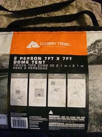 OZARK TRAIL DOME TENT... SLEEPS TWO Sioux Falls