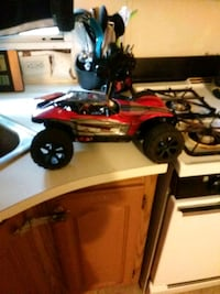 red and black RC car toy Holland, 49423