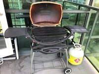 black and red charcoal grill Vancouver, V6E