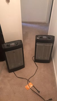 black and gray space heater Springfield, 22151