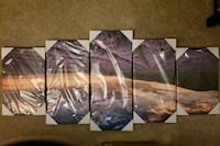 5 piece wall print.  Never used, still wrapped Bethesda