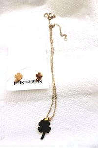 gold-colored chain necklace New York, 10030