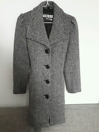 Guess black and gray notch lapel suit small jacket Montreal