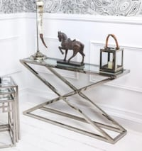 New X Design Stainless Steel Console Table Toronto