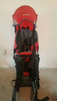 baby's black and red stroller Ottawa, K1T 1W3