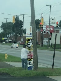 Sign walkers get paid cash daily $40 to $45 for five hours worth the work Chester, 26034