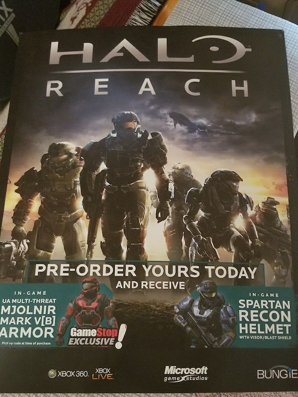 Halo Reach wall poster
